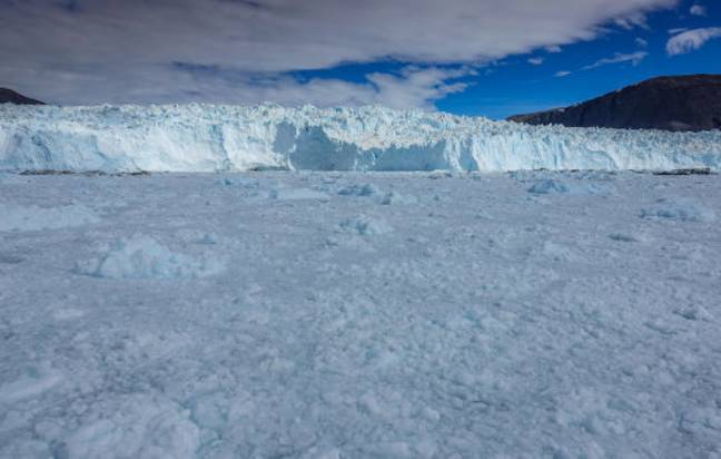 More than two billion tons of ice has melted in Greenland. Credit: PA