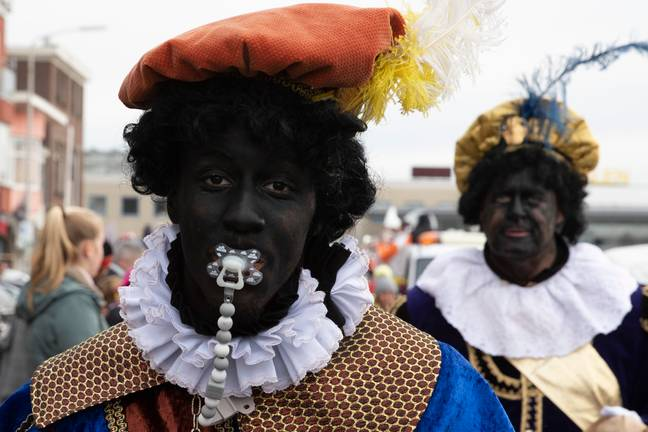 Black Pete divides the Netherlands on a yearly basis. Credit: PA