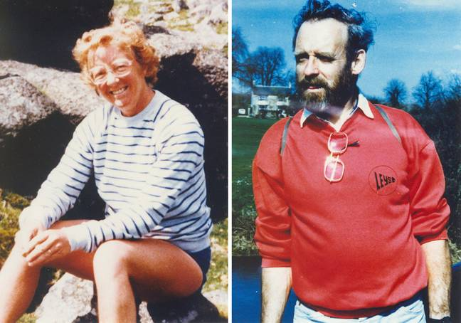 Peter and Gwenda Dixon were murdered in 1989. Credit: PA