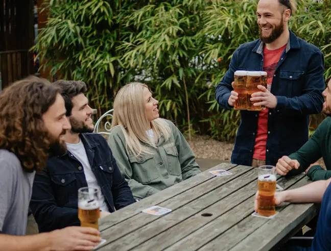 Carling is the best-selling lager in UK pubs. Credit: Carling