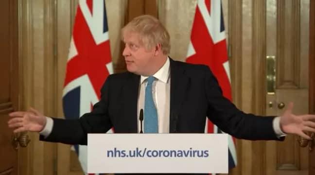 Boris Johnson is holding daily coronavirus briefings. Credit: PA