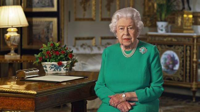 Liz gave a rare public broadcast where she urged the country to come together during this hour of need. Credit: PA