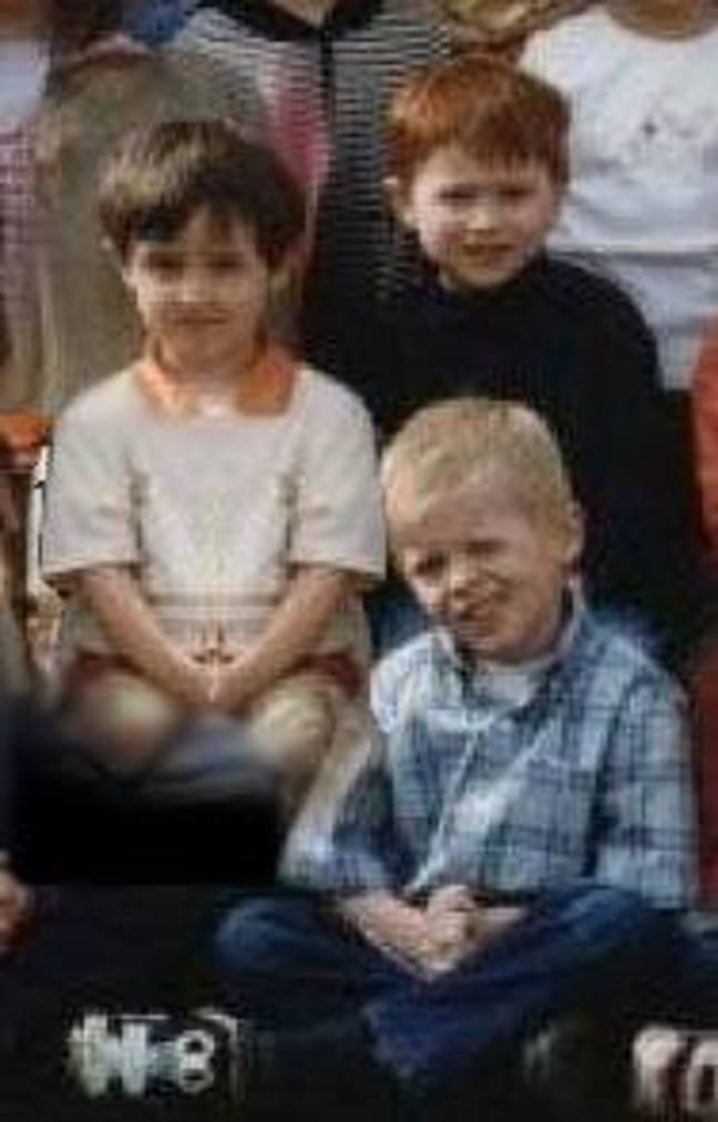 David (L), Ruaridh (top) and Andrew (bottom) have known each other since they were in nursery. Credit: LADbible