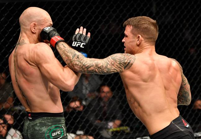 McGregor lost his bout with Poirier. Credit: PA