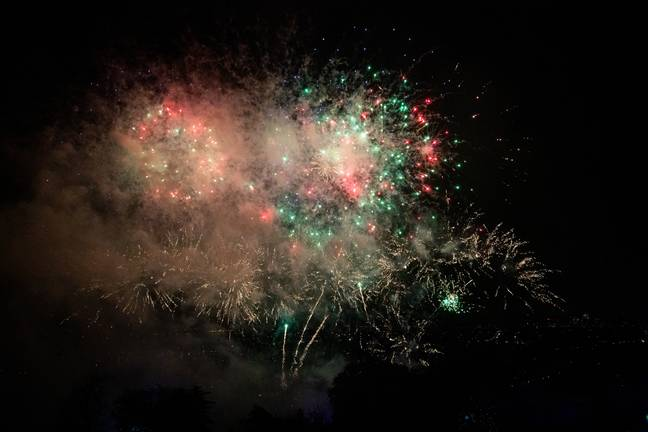 Stock image of fireworks. Credit: PA