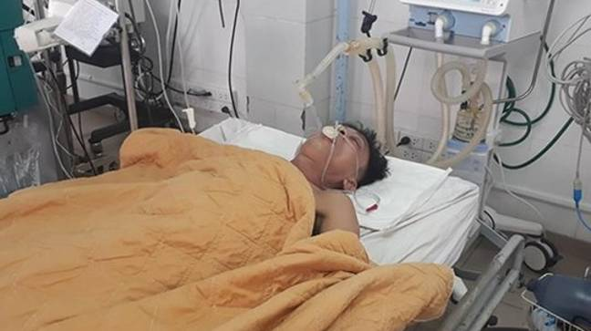 The patient had to have beer pumped into his stomach in order to save his life. Credit: AsiaWire