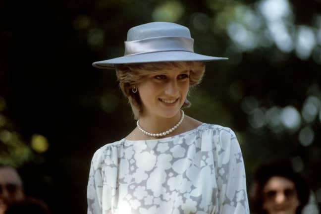 Princess Diana. Credit: PA