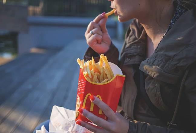 Free fries have also been snapped up by customers as part of the 'Appy Day January promotion. Credit: Pixabay