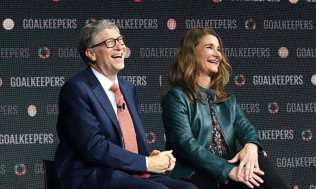 Bill and Melinda Gates, pictured in 2018. Credit: PA