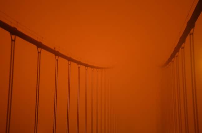 The Golden Gate Bridge in San Francisco. Credit: PA