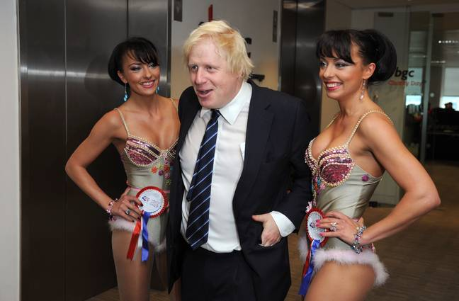 We reckon Boris would be up for the Cheeky Girls joinINg the line-up. Credit: PA