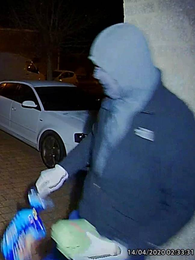 Police are now investigating the theft. Credit: SWNS