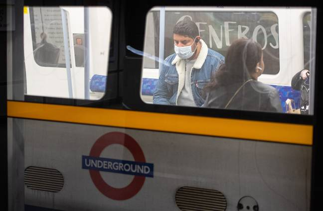 The tube is already on a reduced service. Credit: PA