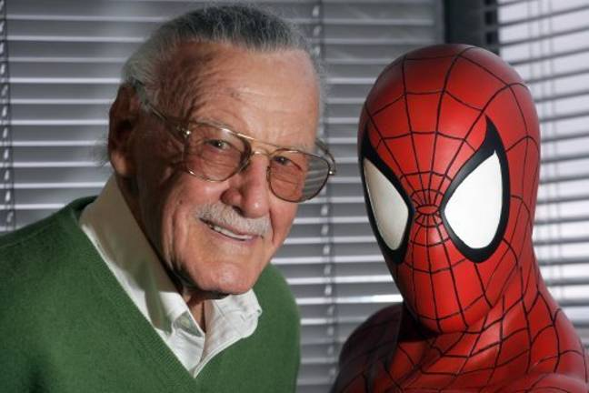 Stan Lee's daughter says the pair were in the middle of developing a new superhero called 'Dirt Man'. Credit: PA