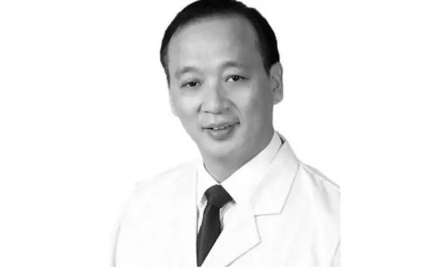 Dr Liu Zhiming was the director of Wuchang Hospital. Credit: Twitter