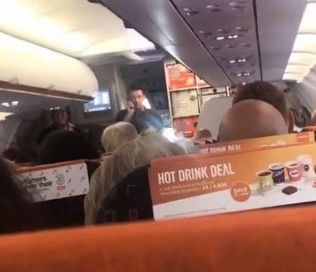 Michael Bradley addresses the passengers. Credit: MEN Media