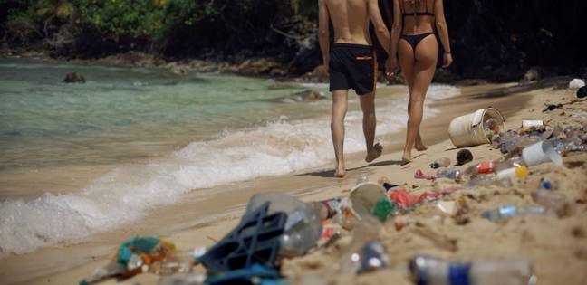 Pornhub say their website should be dirty, not the world's beaches. Credit: Pornhub