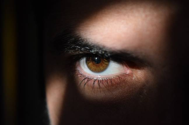 Men's pupils were dilated by watching both female and male scenes