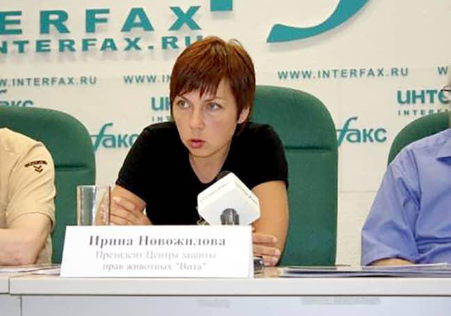 Irina Novozhilova. Credit: The Siberian Times