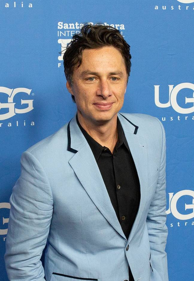 Zach Braff says it was a 'bummer' the controversy appeared to affect the reception to his film. Credit: PA