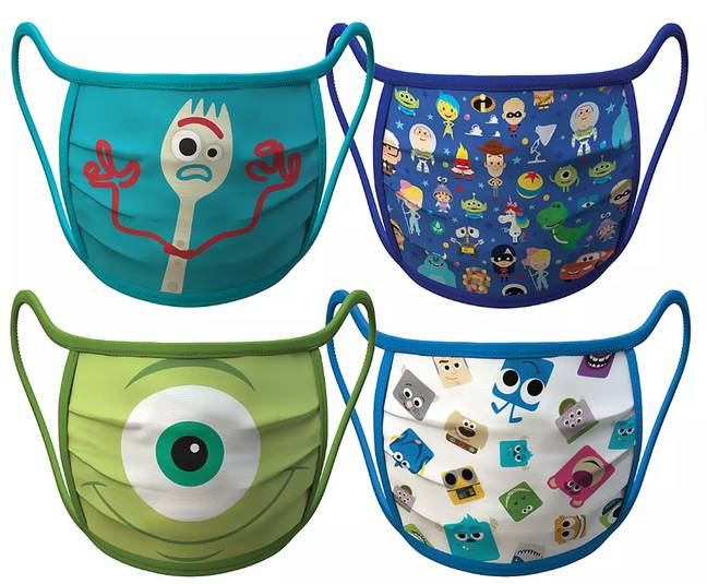 Disney is donating and selling face masks to help fight the spread of coronavirus. Credit: Disney