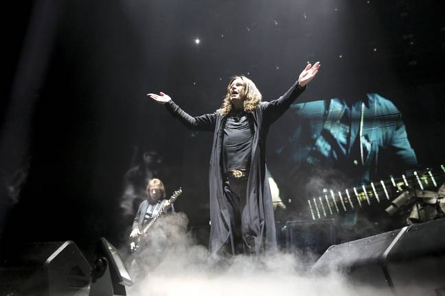 Ozzy Osbourne is still rocking out with Black Sabbath. Credit: PA