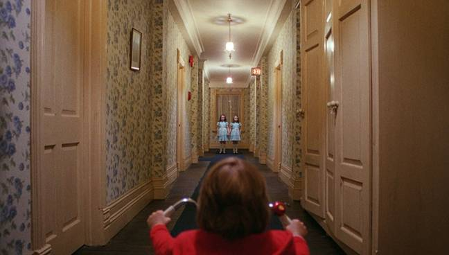 The hotel isn't really haunted by two creepy twins, but you'll still have a good time. Credit: Warner Bros