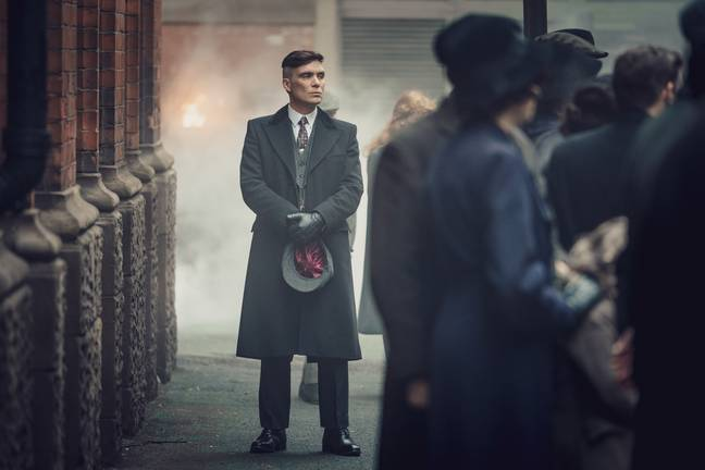 Turns out Cillian Murphy isn't a fan of the Tommy Shelby hairdo. Credit: BBC