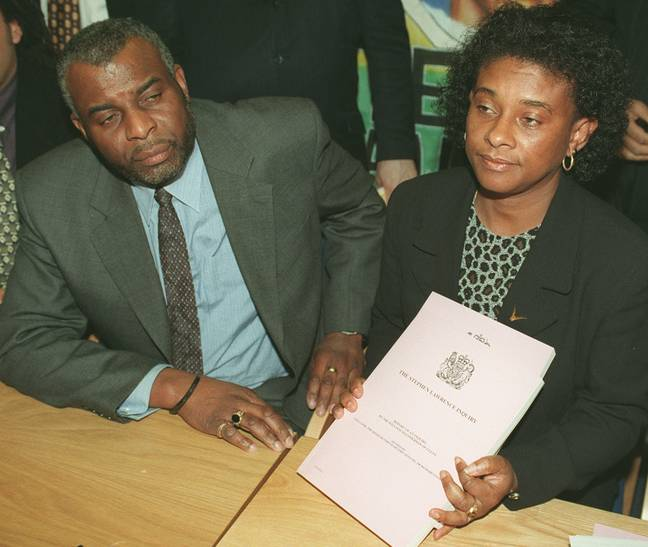 Doreen and Neville Lawrence launched a private investigation into their son's death. Credit: PA