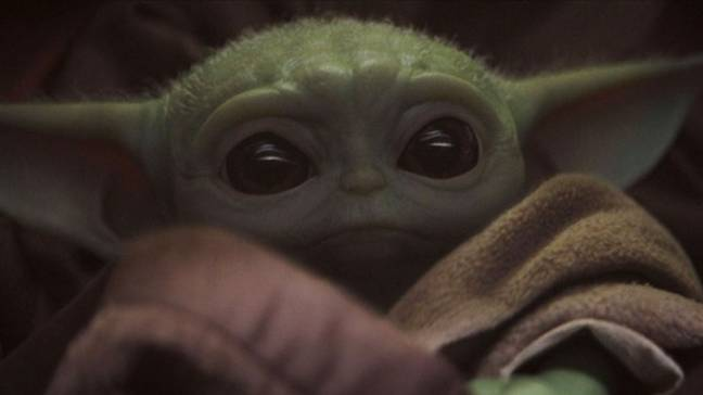People are obsessed with Baby Yoda after watching The Mandalorian. Credit: Disney / Lucasfilm