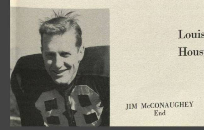 Matthew McConaughey's father in his old school year book