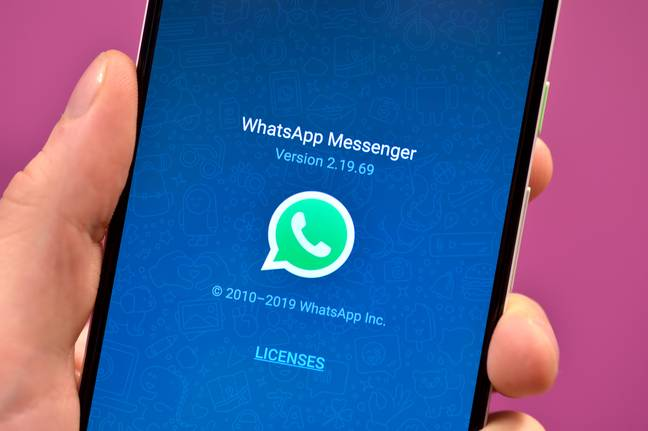 WhatsApp has encouraged all users to update their apps. Credit: PA
