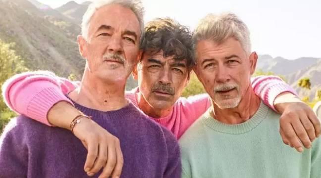 The Jonas Brothers are among many celebrities to use FaceApp. Credit: Jonas Brothers