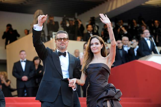 Angelina Jolie and Brad Pitt got married in the French hamlet of Correns. Credit: PA