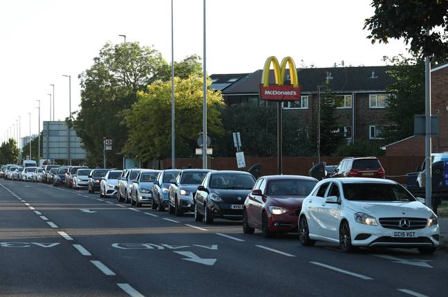 People in Hounslow were more than ready for their Maccies fix when it re-opened this week. Credit: PA