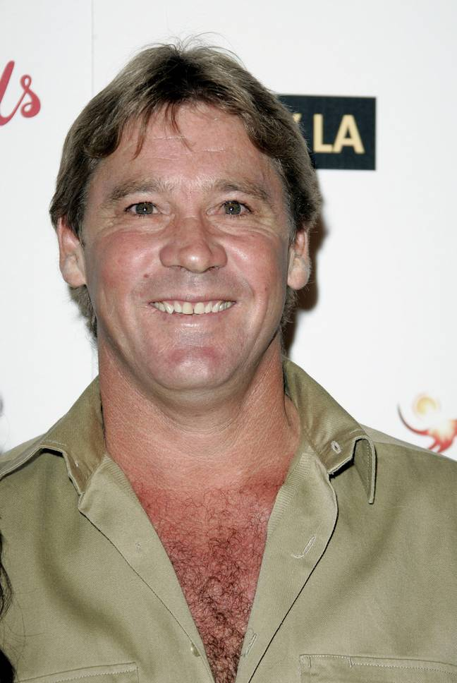 The late and great Steve Irwin. Credit: Alamy