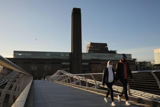 Tate Modern in London. Credit: PA