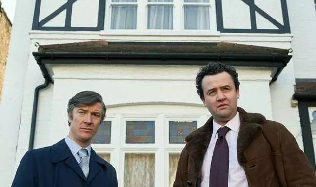 Danny Mays (right) as DCI Peter Jay. Credit: ITV