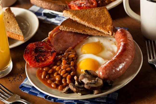 Some prefer a big English sausage. Credit: Alamy