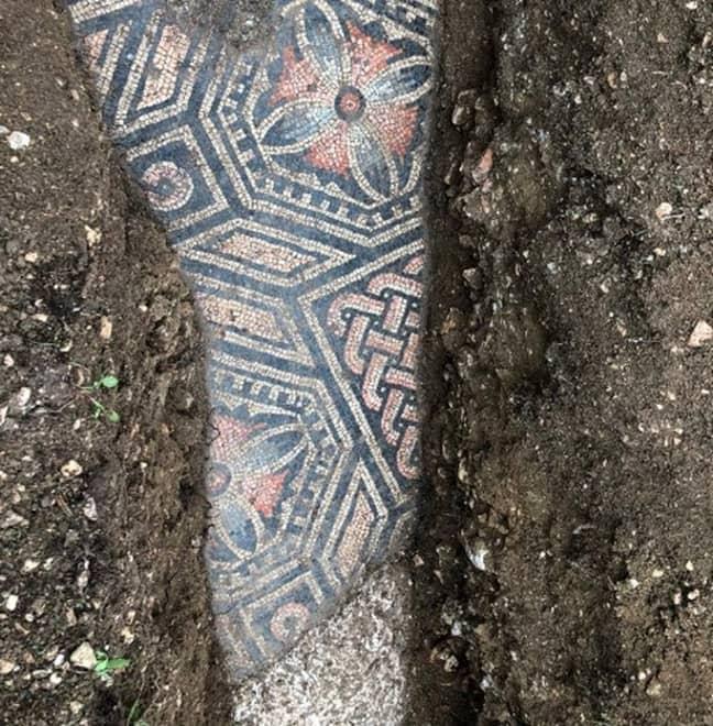 Part of the floor. Credit: Comune di Negrar di Valpolicella