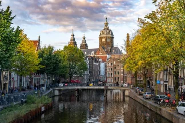 Amsterdam. Credit: PA