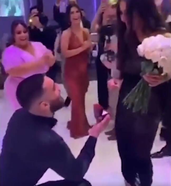 Groom Accused Of 'Wrecking' Own Wedding After Getting Friend To Propose