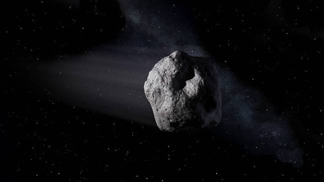 How an asteroid might usually look. Credit: NASA