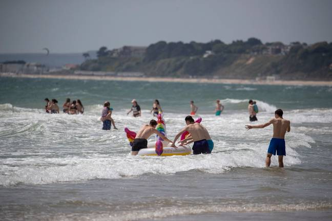 It's going to be hotter than Hawaii this weekend... but the beaches will probably be rammed. Credit: PA