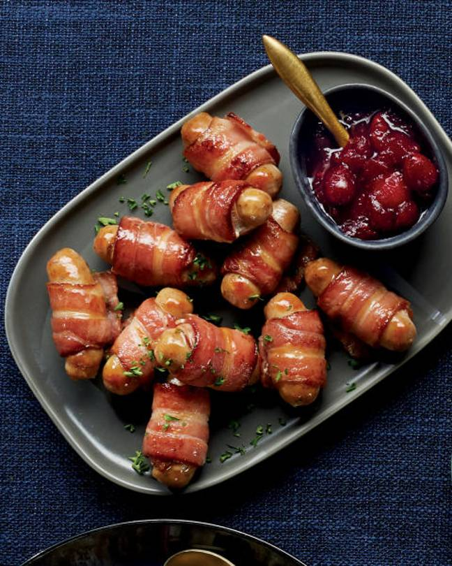 Pigs in blankets are more popular than ever. Credit: Aldi
