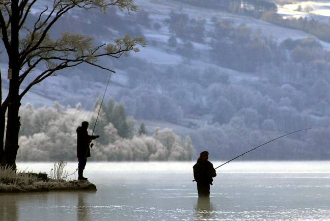 Angling has been classed as a form of exercise. Credit: PA