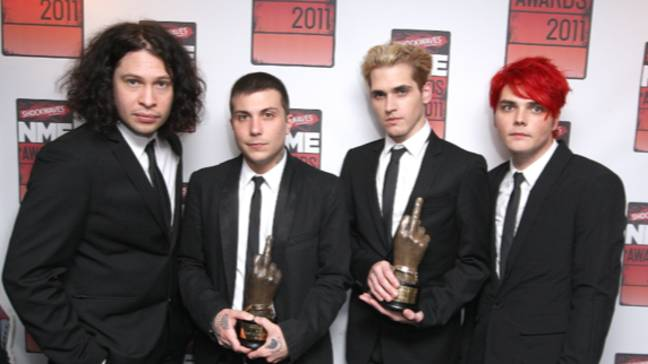 My Chemical Romance delighted fans with the news (Credit: PA)