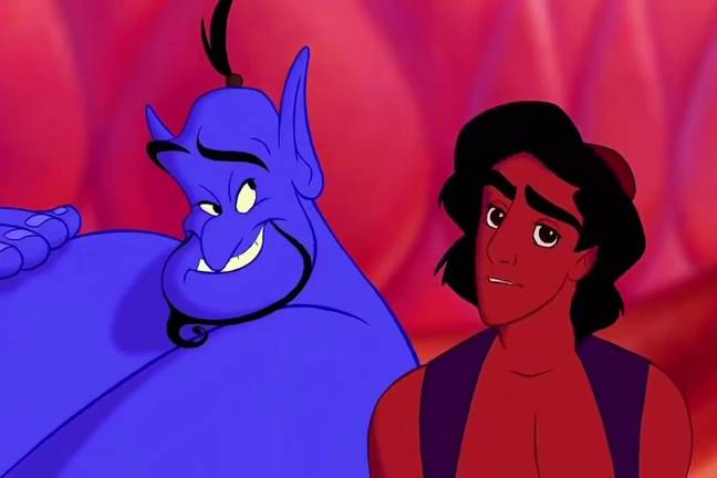 The genie in Disney's Aladdin. Credit: Buena Vista Pictures