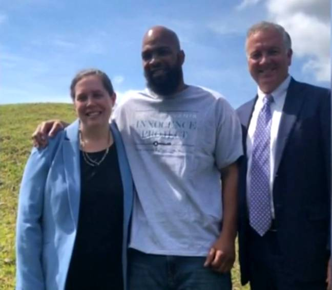 The Pennsylvania Innocence Project helped Mr Miller with his appeal. Credit: CBS