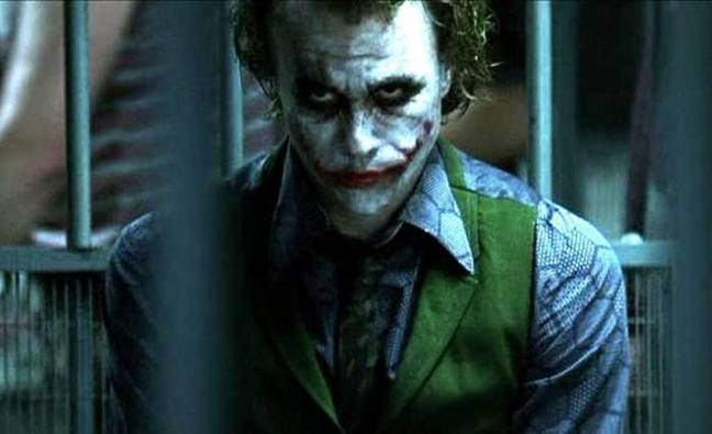 Heath Ledger passed away as The Dark Knight was being edited. Credit: Warner Bros. Pictures